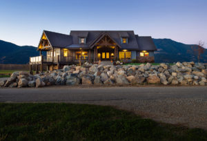 Mountainside Design Build Deroche House Exterior